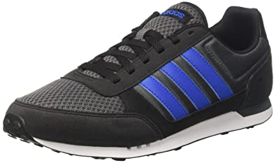 19ca3d268 adidas Men s s Neo City Racer Gymnastics Shoes Grey Five Blue core Black