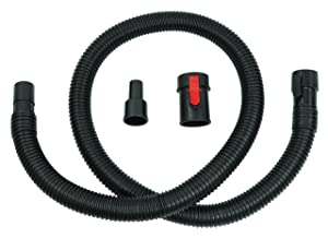 "Ridgid Tug-A-Long Genuine OEM 31713 1-7/8 Inch,7 Foot Vacuum Hose Kit for Wet / Dry Vacuums w/ 1-1/4"" Adapter"