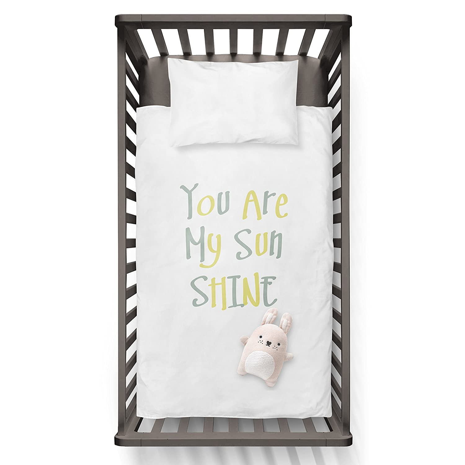 You Are My Sun Shine Funny Humor Hip Baby Duvet /Pillow set, Toddler Duvet, Oeko-Tex, Personalized duvet and pillow, Oraganic, gift Jobhome AB0004