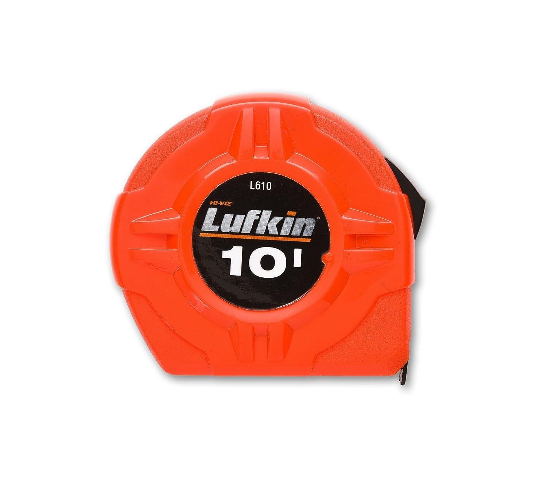 Lufkin L625SCTMP 1-Inch by 25-Feet Hi-Viz Self Centering Orange Power Return Tape