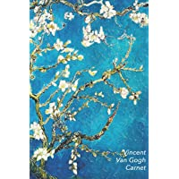 Vincent van Gogh Carnet: Amandier en Fleurs | Beau Journal | Idéal pour l'École, Études, Recettes ou Mots de Passe | Parfait pour Prendre des Notes