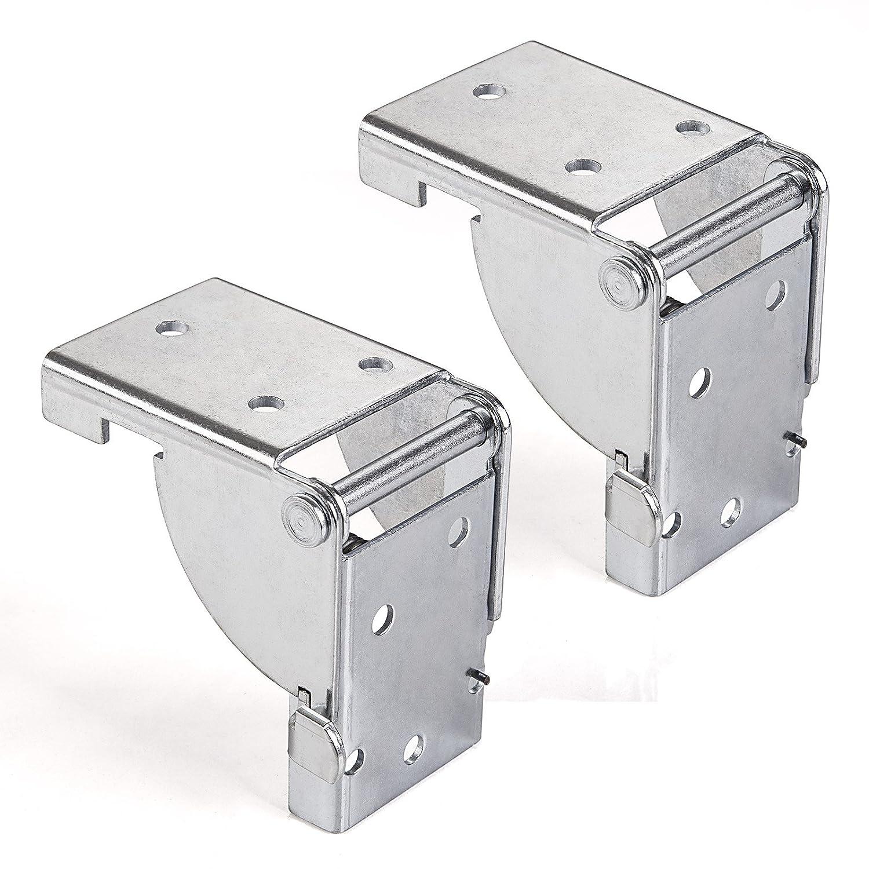 4 x SO-TECH/® Mensula plegable para Pata de Mueble Bisagra Consola plegable para Mesa plagable 38 x 38 mm