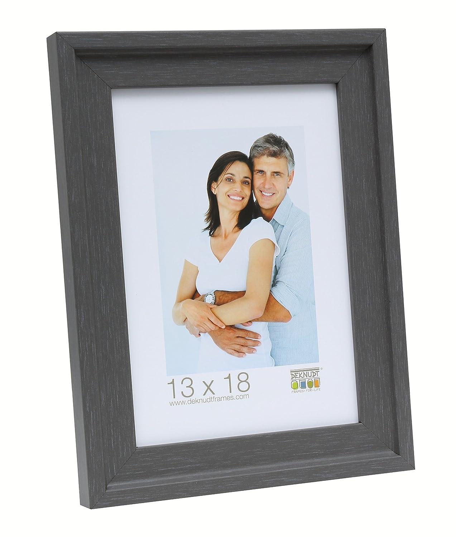 Deknudt Frames, Cornice Porta Foto con Bordo in Rilievo, Effetto Dipinto, Beige (Beige), 10 x 15 cm S45EF3-10.0x15.0
