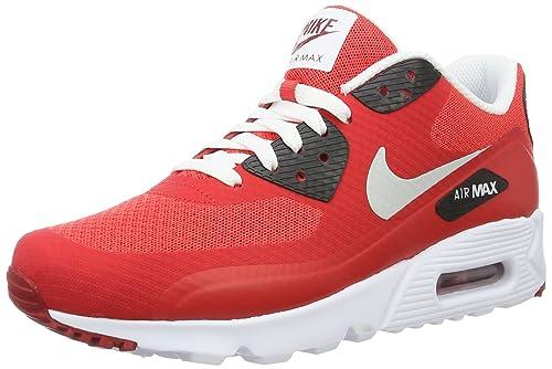 size 40 c03c6 51269 Men s Nike Air Max 90 Ultra Essential Action RedPure Platinum-Gym Red