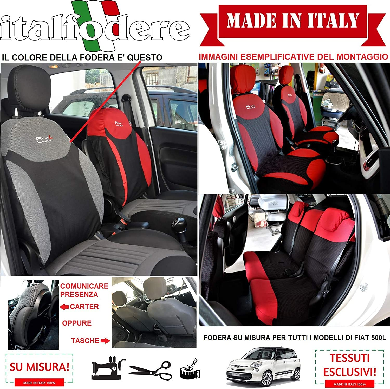 italfodere Fodere 500 su Misura Cordura 41 COPRISEDILI 500 Fiat Coppia Foderine Complete VariColori