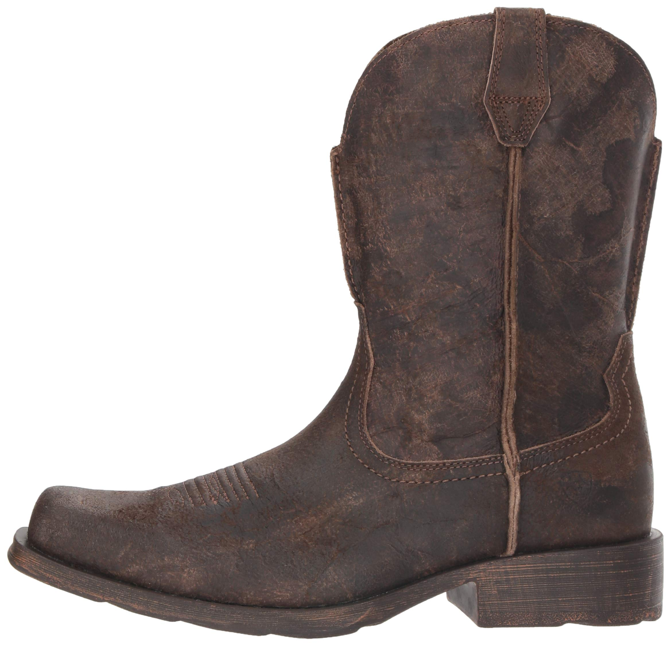 Ariat Men's Rambler Western Boot, Antiqued Grey, 13 2E US by ARIAT (Image #5)