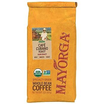 Mayorga Specialty-Grade Whole Bean Dark Roast Coffee