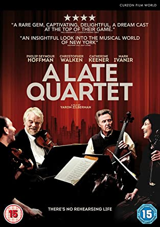 A Late Quartet Dvd Reino Unido Amazon Es Christopher Walken Philip Seymour Hoffman Catherine Keener Imogen Poots Yaron Zilberman Cine Y Series Tv