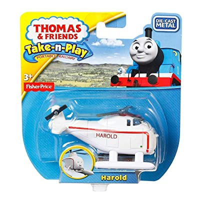 Fisher-Price Thomas & Friends Take-n-Play, DC Harold: Toys & Games