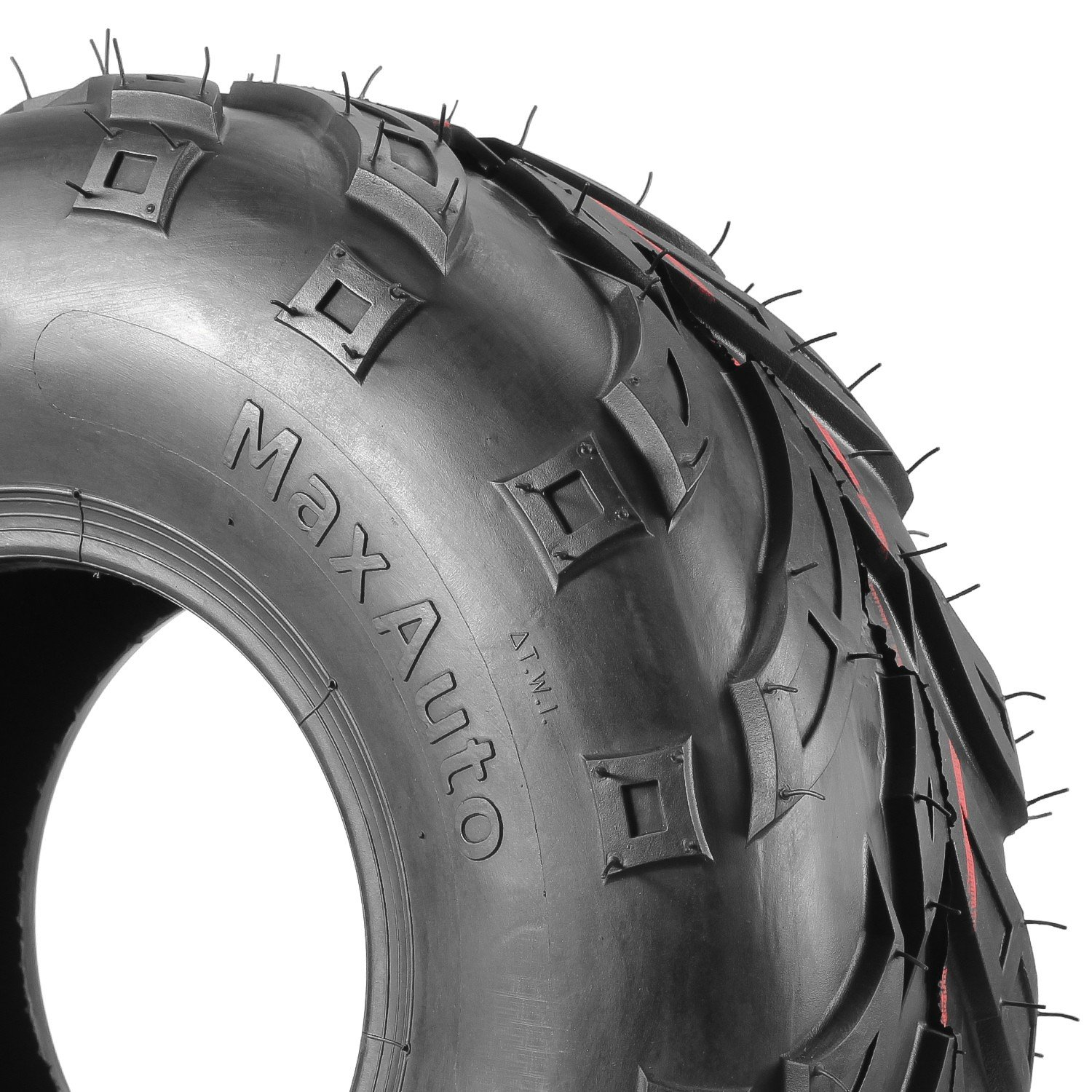 Pack of 4 Sport ATV Tires 145/70-6, 145x70-6 4Ply Go-Kart Lawn mini bike Tires by MaxAuto (Image #4)