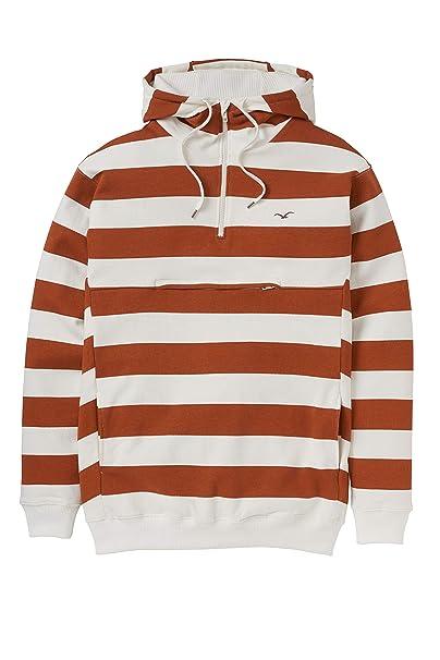 Cleptomanicx Herren Hoodie Deck Stripe