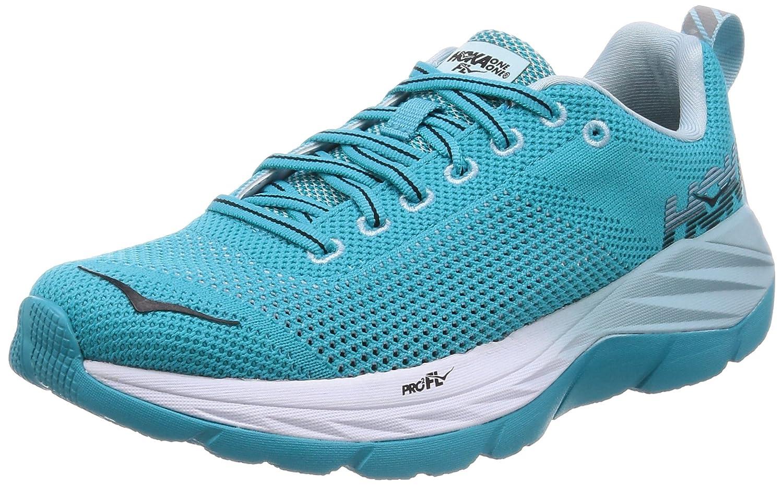 HOKA ONE ONE Women's Mach Running Shoe B0711TP4YJ 9 B(M) US|Bluebird/White