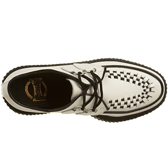 Demonia Creeper-402 - gotica punk Creeper zapatos unisex - tama?o 36-46, US-Herren:EU-37 (US-M5)