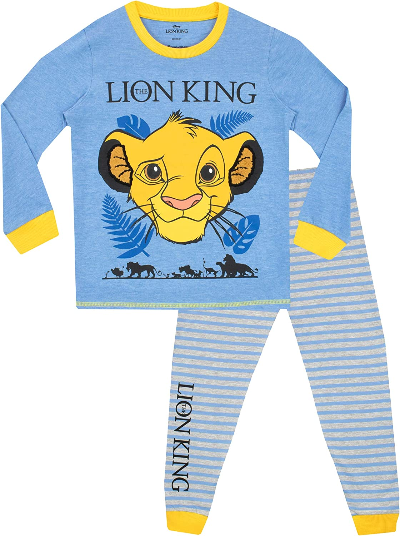 Disney Pijamas de Manga Larga para niños Lion King