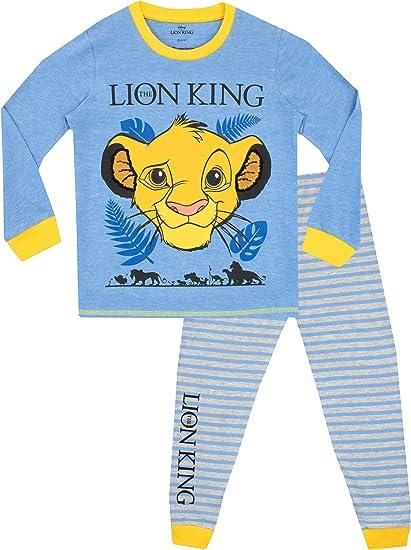 Disney Pijamas de Manga Larga para niños Lion King: Amazon.es: Ropa y accesorios