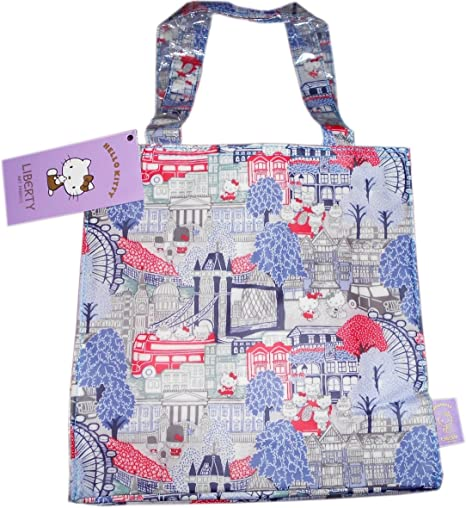 8d29b4aa7 Hello Kitty Liberty London Tote Bag / Shopping Bag: Amazon.co.uk: Kitchen &  Home