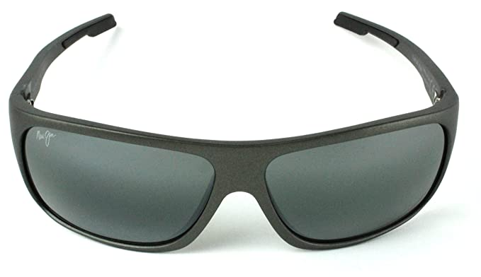 f83010e9818 Image Unavailable. Image not available for. Colour  Maui Jim 415-02J Bamboo  Forest Polarized Sunglasses Gloss Black ...