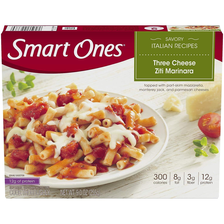 Smart Ones Savory Italian Recipes Three Cheese Ziti Marinara Frozen Meal (9 oz Box)