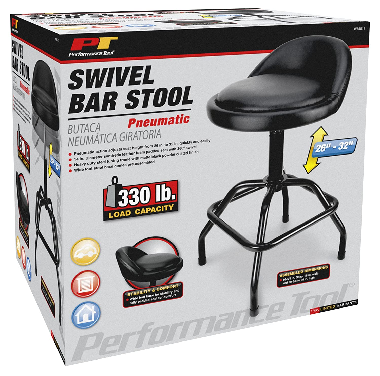 Performance Tool W85008 Professional Hydraulic Shop Seat Wilmar Corporation