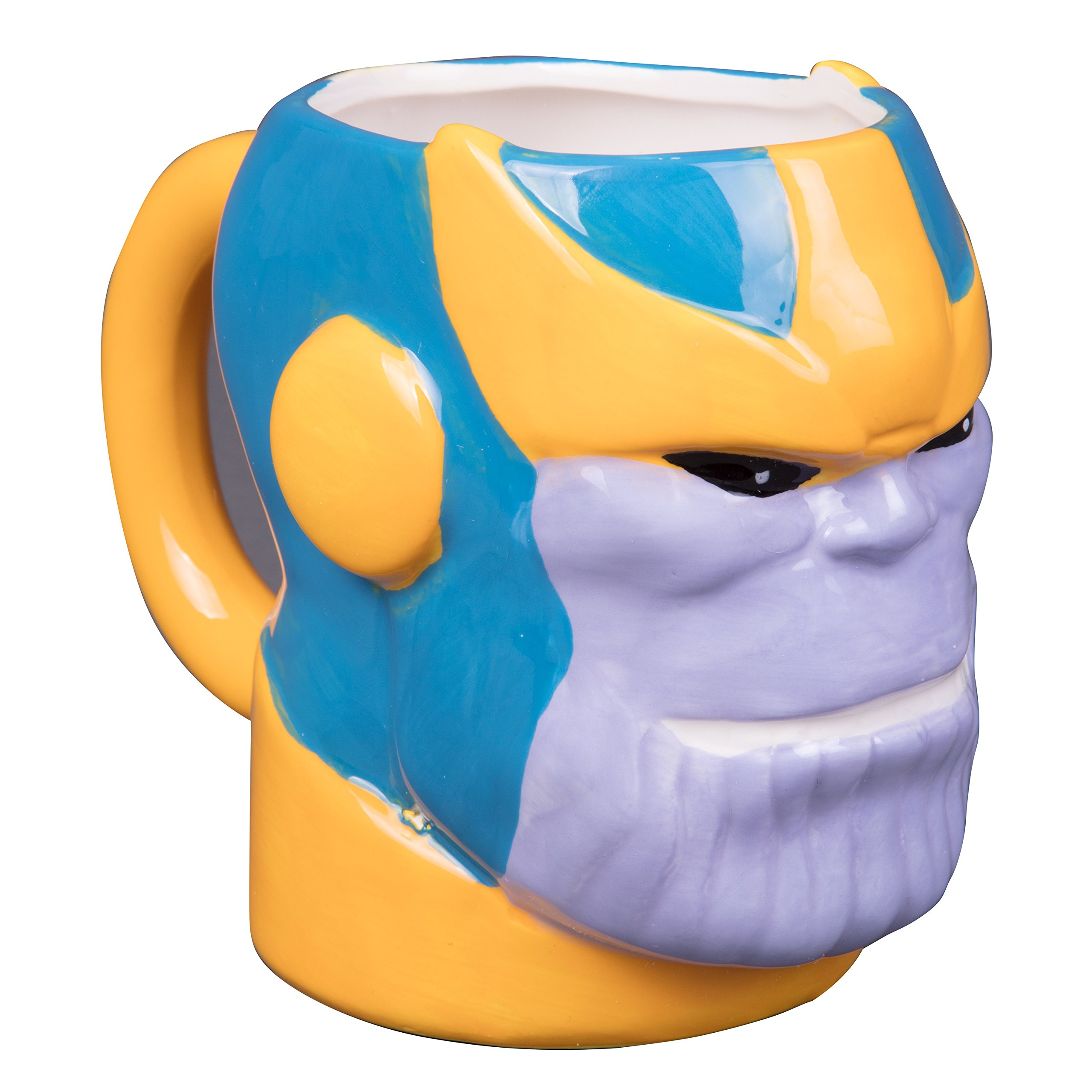 Marvel Avengers : Infinity War - Thanos Figural 3-D Ceramic Coffee Mug - 18oz
