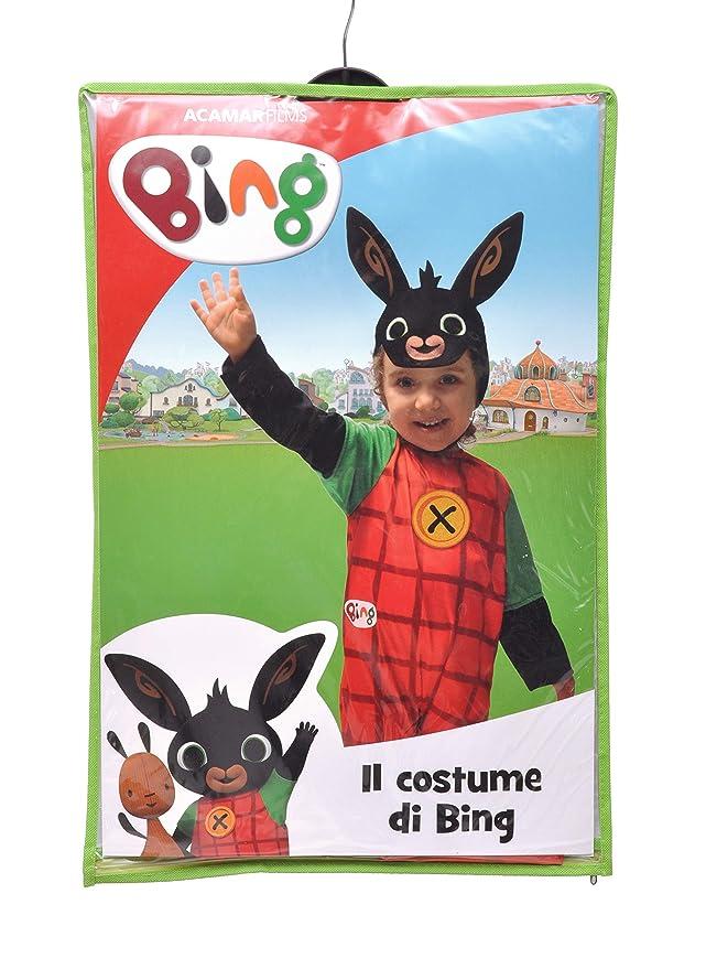 bene fuori x vendita calda autentica completo nelle specifiche Ciao- Bing Coniglietto Costume Bambino, 4-5 Anni Unisex, Rosso, Nero,  11280.4-5