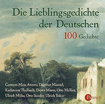 Die Lieblingsgedichte Der Deutschen 100 Gedichte 2 Cds