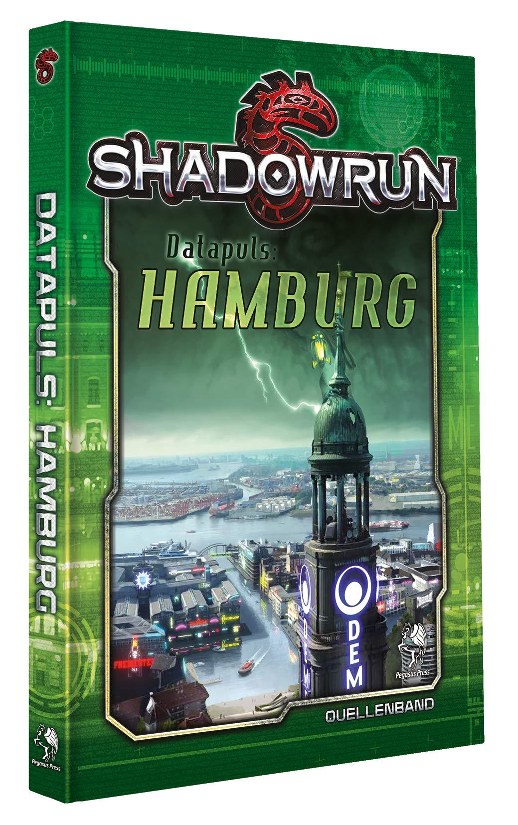 Shadowrun: Hamburg *Limitierte Ausgabe* Gebundenes Buch – 19. Oktober 2018 Pegasus Spiele GmbH 3957892228 Spielen / Raten Cyberpunk-Rollenspiele