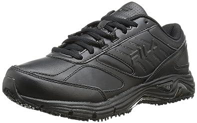 a481a8ff Fila Women's Memory Flux Slip Resistant Work Shoe