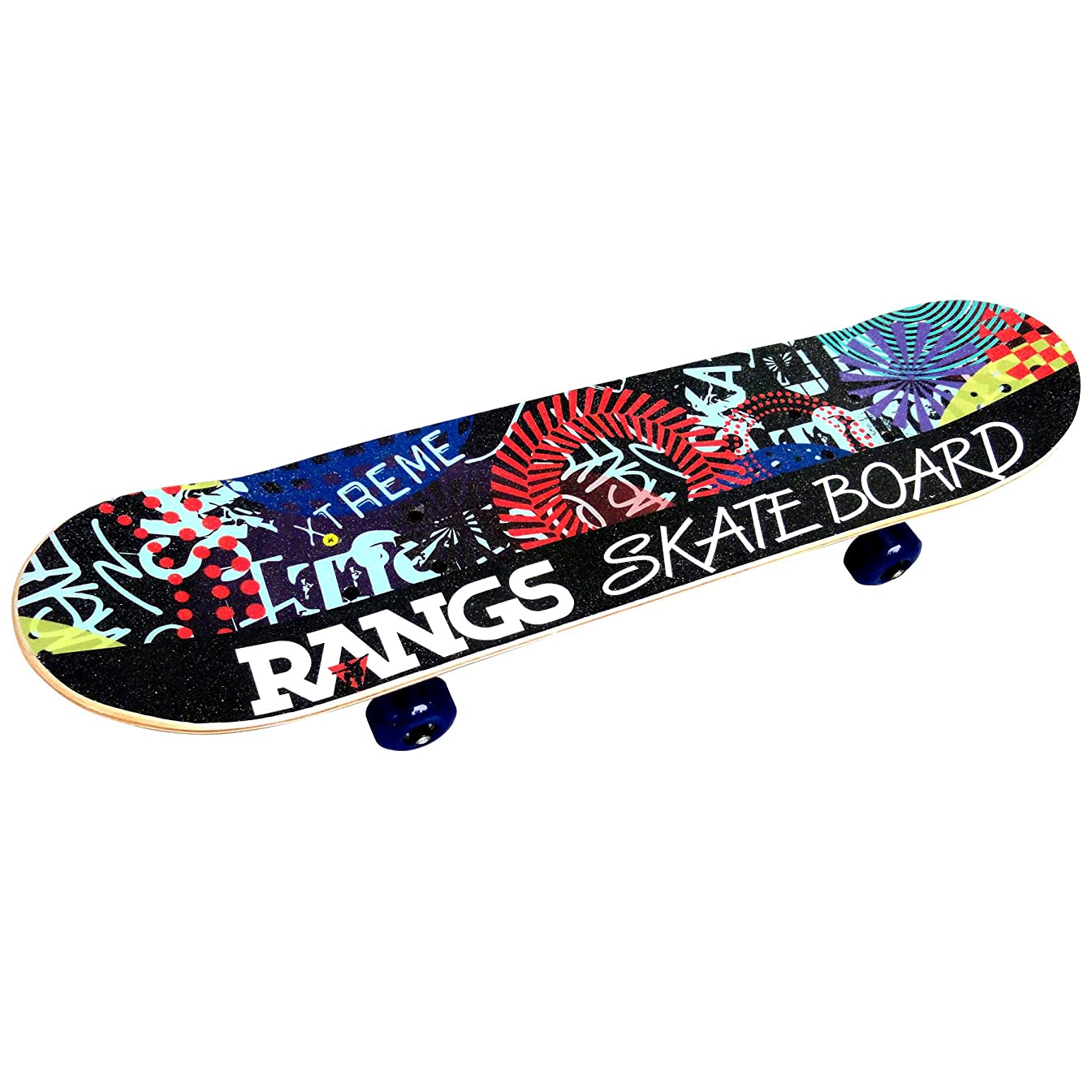 またはどちらかケージすりエスボード キッズ ミニモデル 子供用 スケートボード (スキューバブルー/アクアマリン)