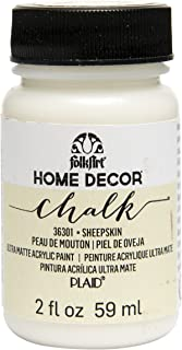 product image for FolkArt 36301 Home Decor Chalk Furniture & Craft Paint in Assorted Colors, 2 ounce, Sheepskin