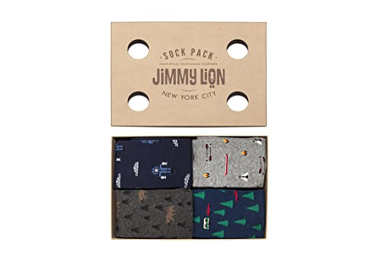 Jimmy Lion Adventure Pack, Calcetines Unisex, Sock Box, 41-46: Amazon.es: Ropa y accesorios