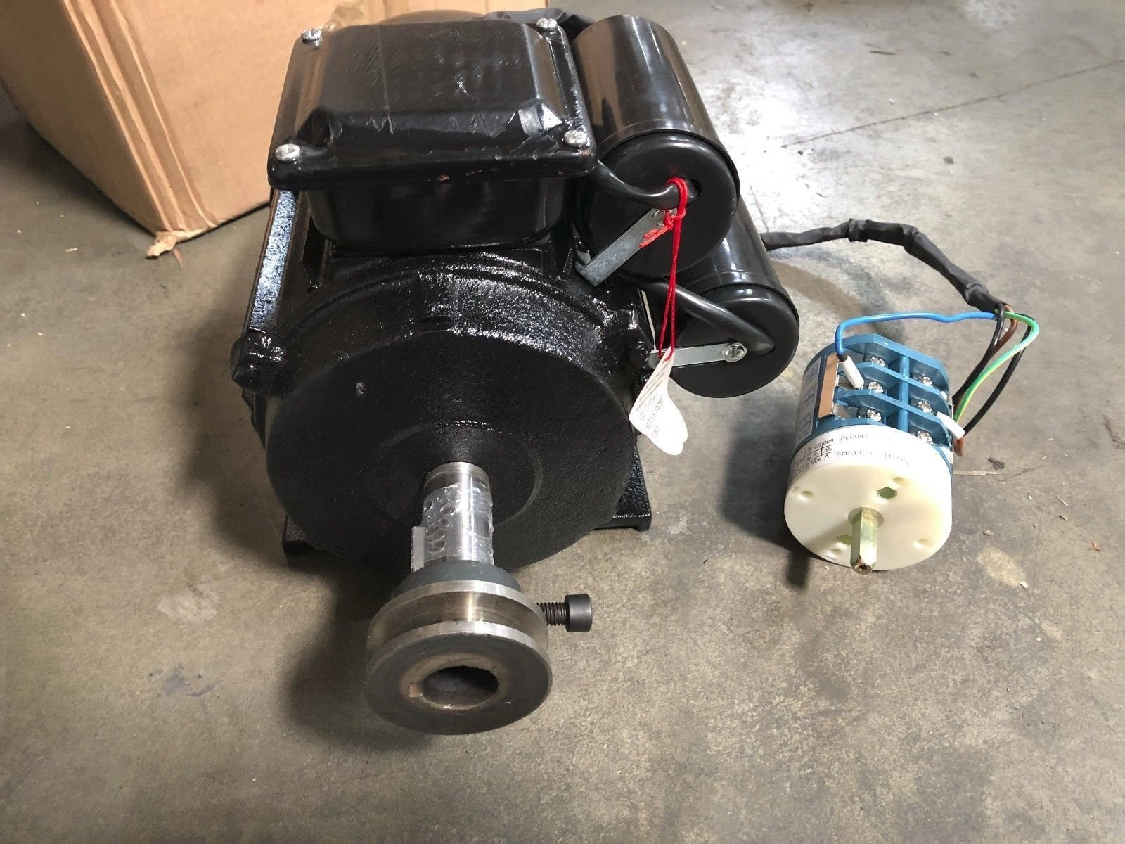 Tire Changer Electrical Motor + Switch for XK 560 950 960 Tire Changer