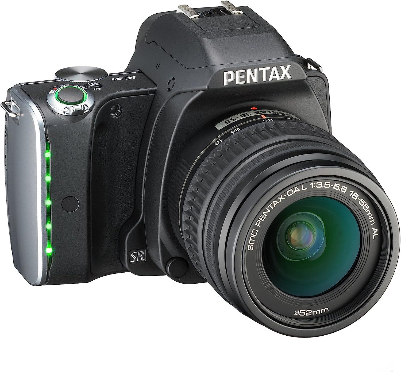 Pentax K-S1 + DAL 18-55mm - Cámara réflex, Negro: Amazon.es ...