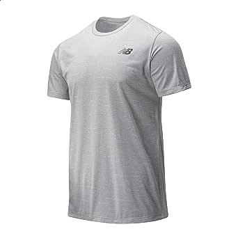 New Balance Regular-Fit Front Logo Training T-shirt for Men L