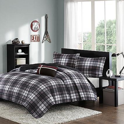 Amazon Mi Zone Harley Twintwin Xl Size Teen Boys Quilt Bedding