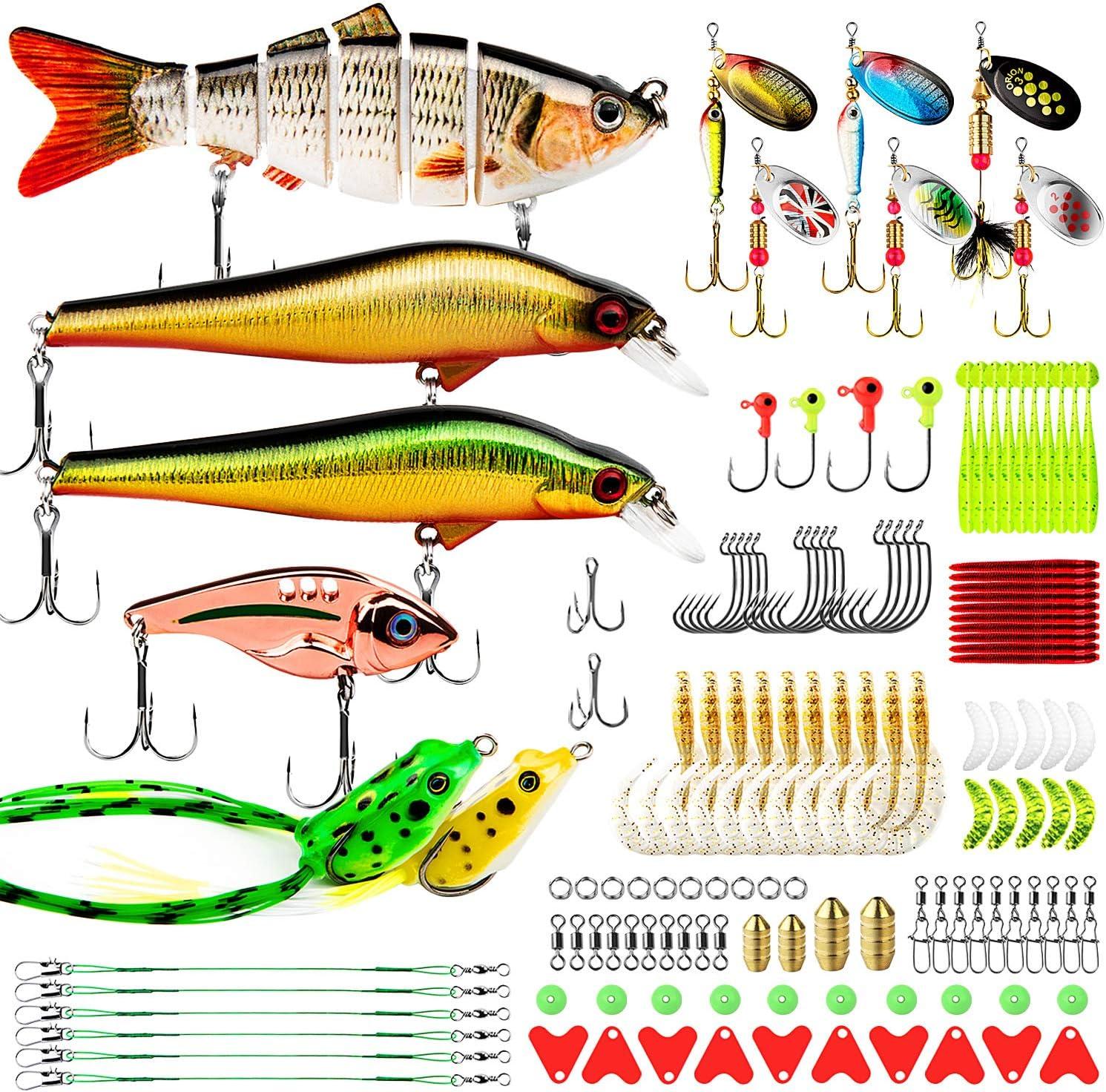7cm Soft Material Bait Fishing Lure Simulation jumping Fish Bait New Swimbaits