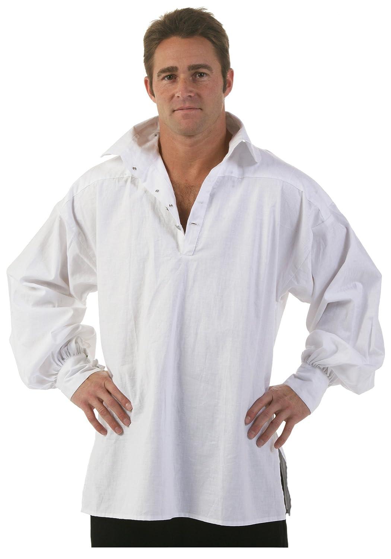 Amazon Fun Costumes Mens White Renaissance Fair Shirt Clothing