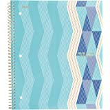 """Five Star Spiral Notebook, 1 Subject, College Ruled Paper, 100 Sheets, 11"""" x 8-1/2"""", ZigZag Purple (06348BR8)"""