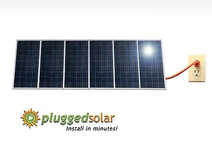Solar Panel Wall >> Amazon Com 1500 Watt Solar Panels And Micro Grid Tie Inverter