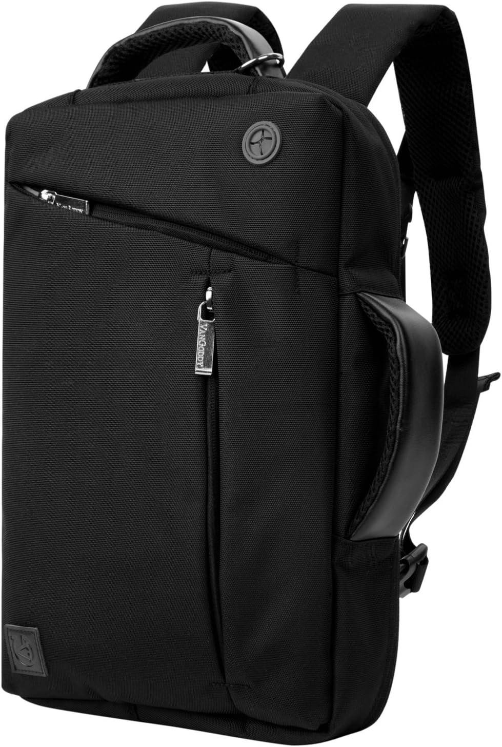 Vangoddy Slate 3 in 1 Hybrid Universal Laptop Carrying Bag, Size 11 inch, Onyx Black