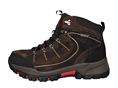0c02d26a01d Northwest Territory Mens Rae Leather Waterproof Hiking Trekking Walking  Boots  Amazon.co.uk  Shoes   Bags