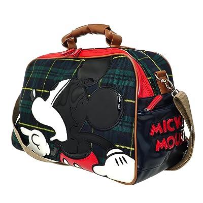 A129.Disney Mickey Mouse Men Women Travel Weekend Duffel Overnight Gym Bag