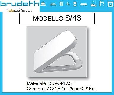 Sanitari Nero Ceramica Aliseo.Sedile Wc Compatibile Nero Ceramica Aliseo