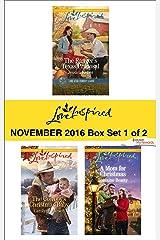 Harlequin Love Inspired November 2016 - Box Set 1 of 2: An Anthology Kindle Edition