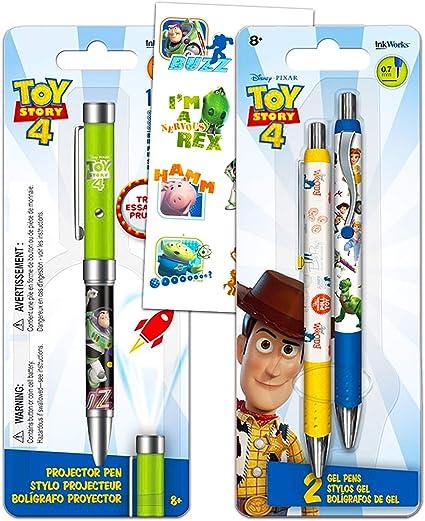 Disney Pixar Toy Story Pen Set ~ Bundle incluye Toy Story 4 ...