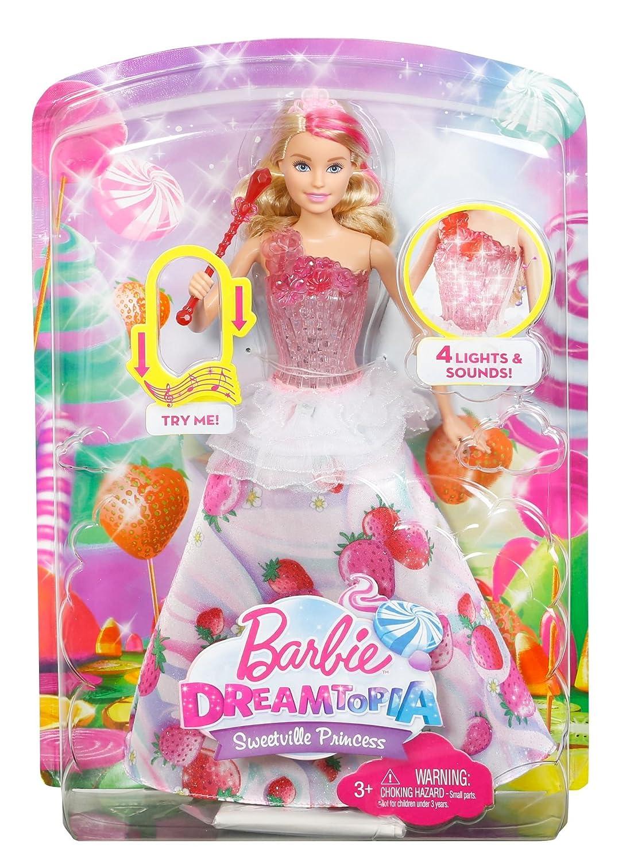 Barbie Princesa Destellos Dulces (Mattel DYX28): Amazon.es: Juguetes ...