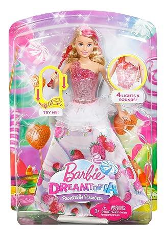 Dyx28 Music Barbie Sweet Princess Mattel Light And JlFcTK1