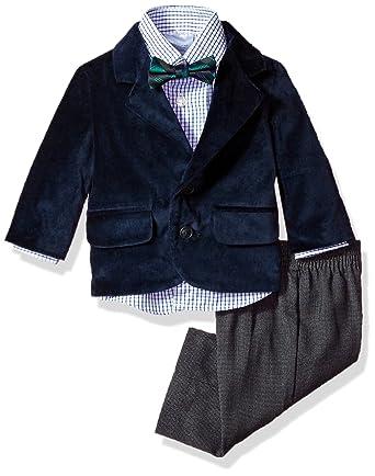 89f86e906 Nautica Baby Boys  Velvet Suit Set  Amazon.in  Clothing   Accessories