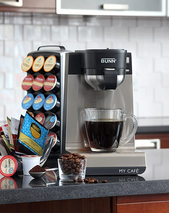 Amazon.com: BUNN MCU Single Cup Multi-Use Home Coffee Brewer: Single Serve  Brewing Machines: Kitchen & Dining