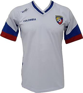 Camiseta de fútbol Colombia New Copa América 2016: Amazon.es: Ropa y accesorios
